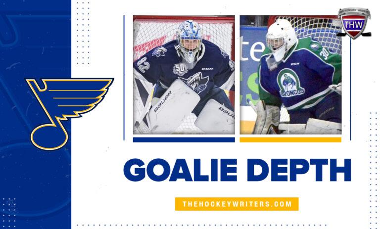 St. Louis Blues' Goalie Depth Joel Hofer and Colten Ellis