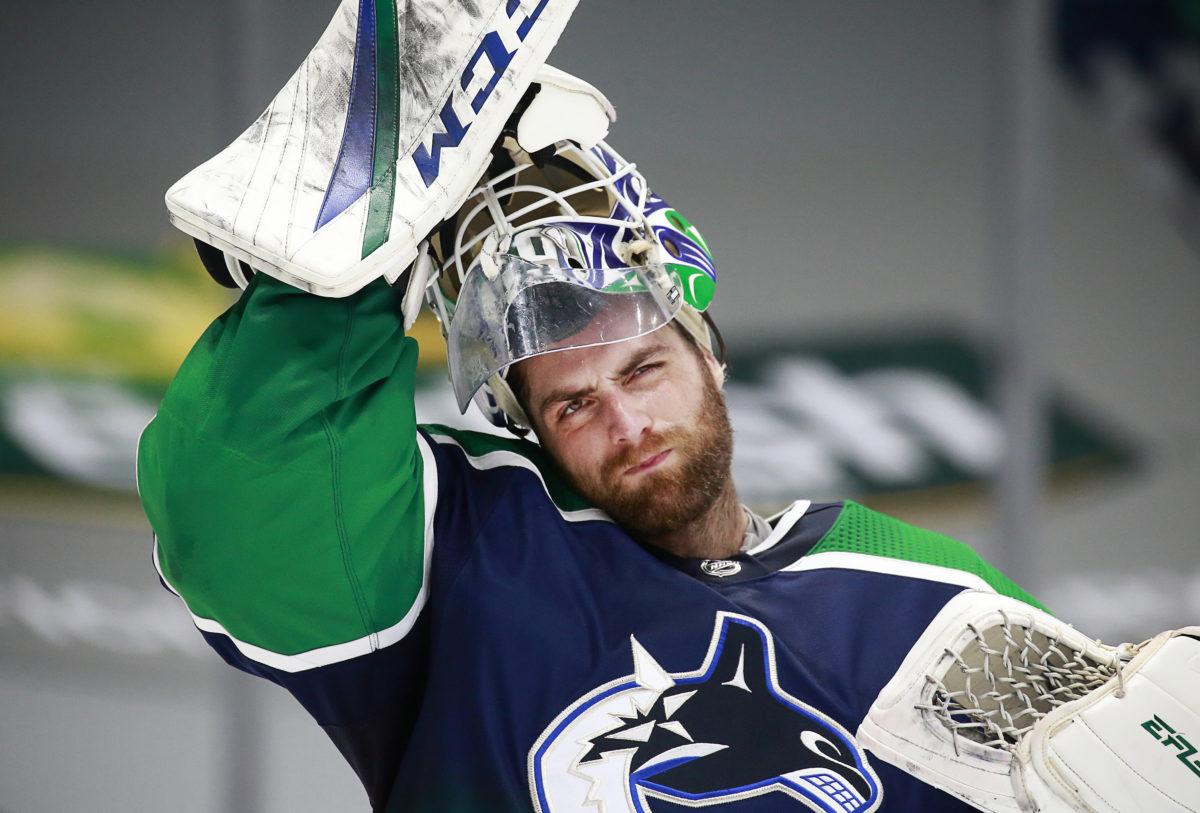 Braden Holtby Vancouver Canucks