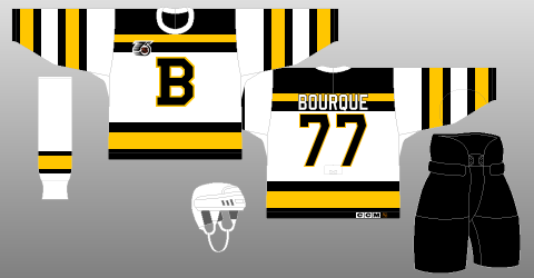Boston Bruins NHL 75th 1991-92