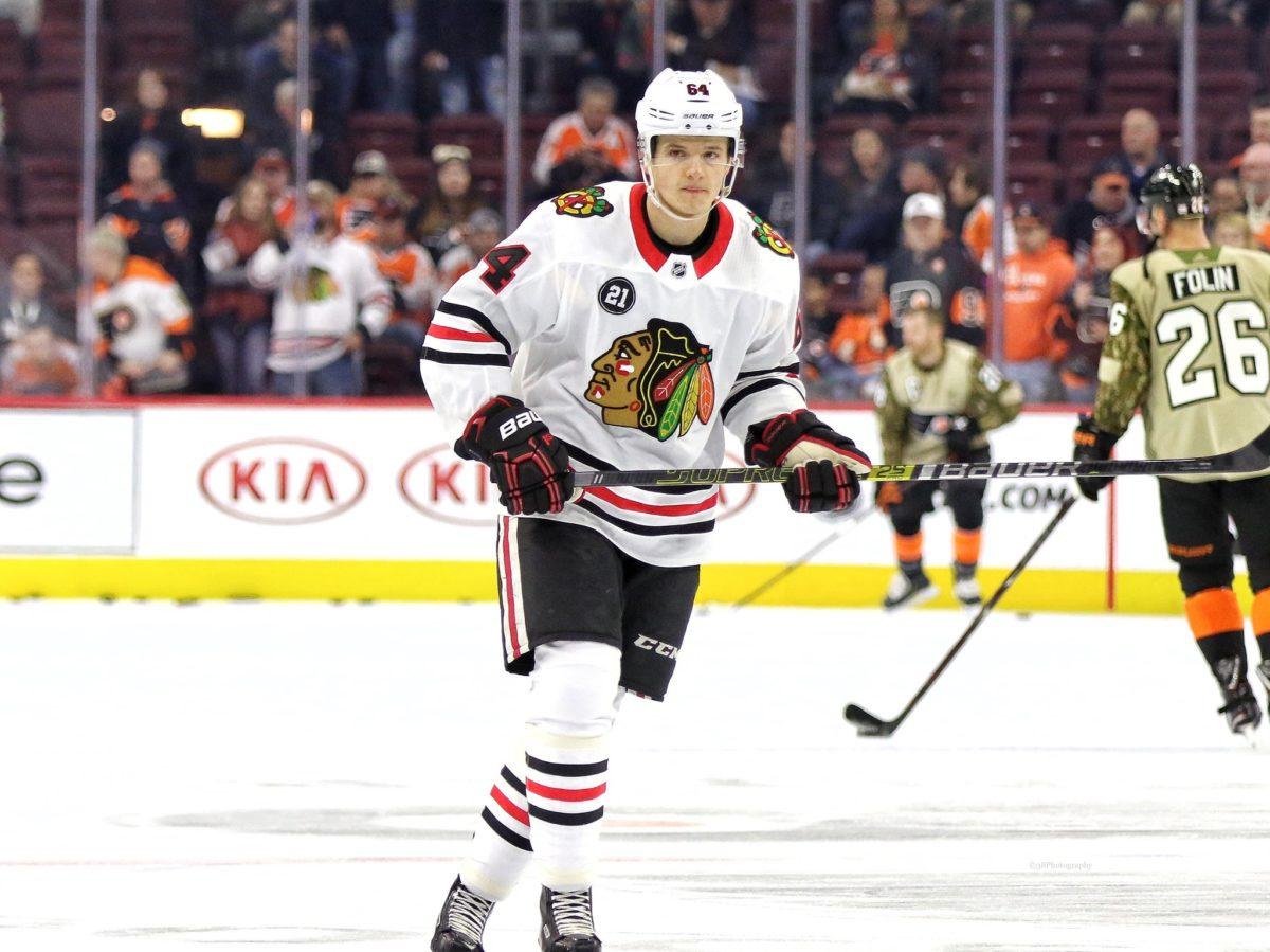 David Kampf Chicago Blackhawks