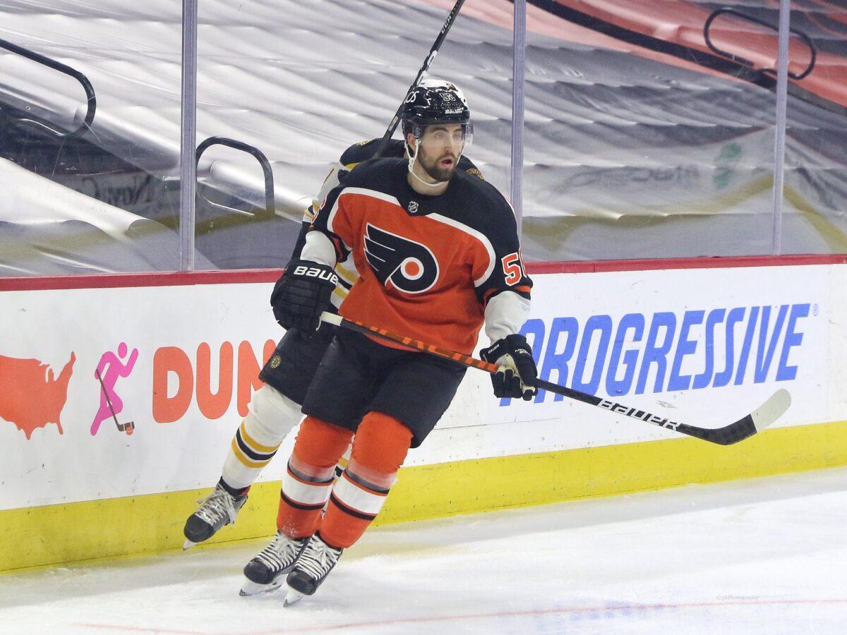 Erik Gustafsson Philadelphia Flyers