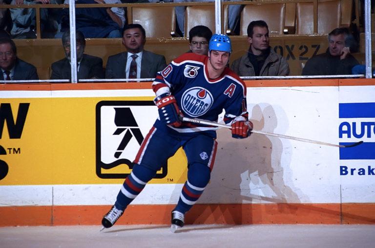 Esa Tikkanen Edmonton Oilers