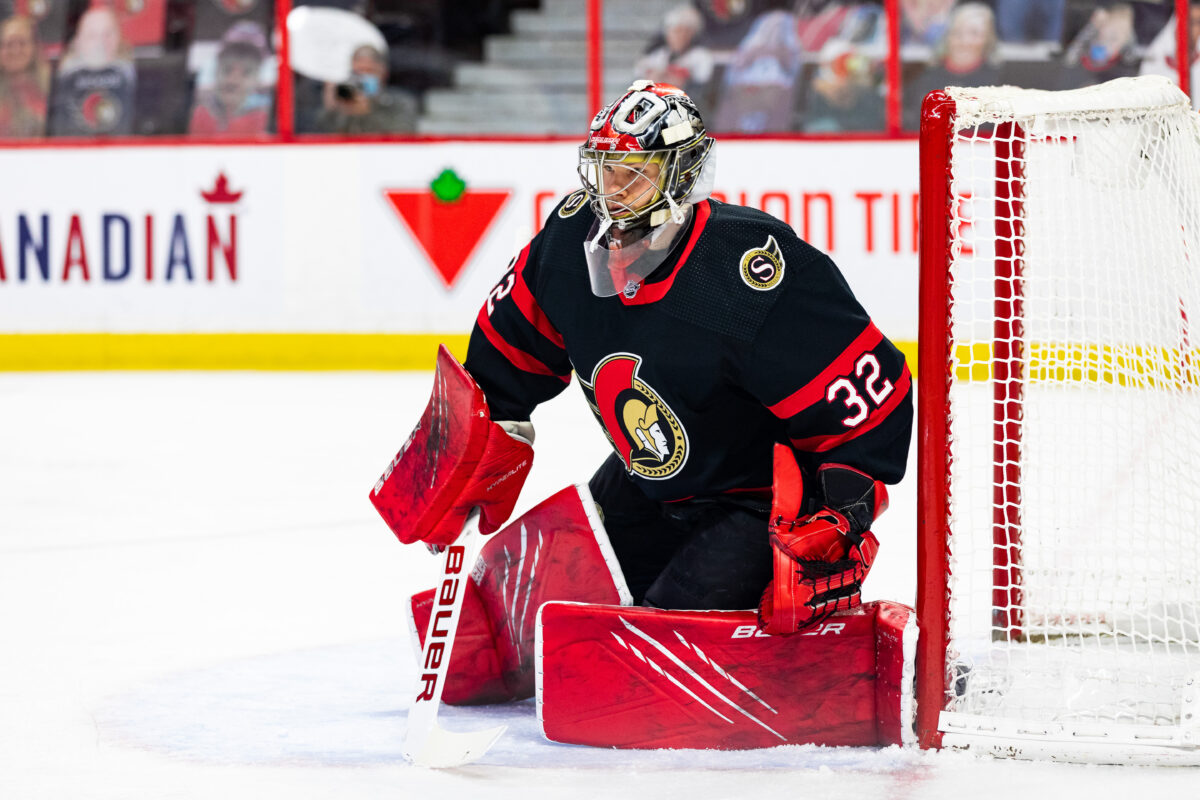Filip Gustavsson Ottawa Senators