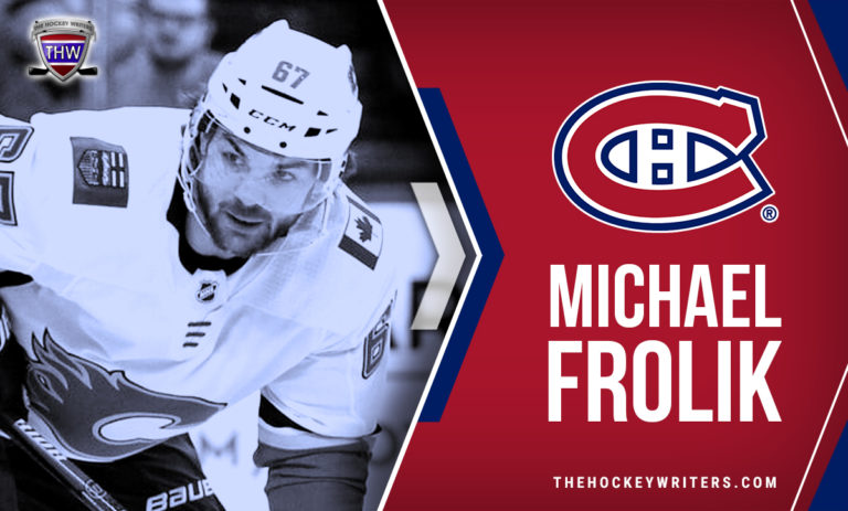 Montreal Canadiens Michael Frolik