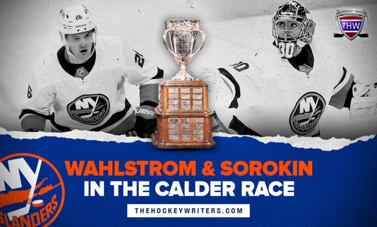 New York Islanders Wahlstrom & Sorokin in the Calder Race