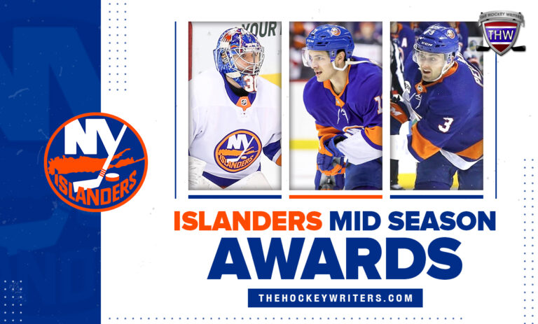 New York Islanders Mid Season Awards Matthew Barzal, Adam Pelech and Ilya Sorokin