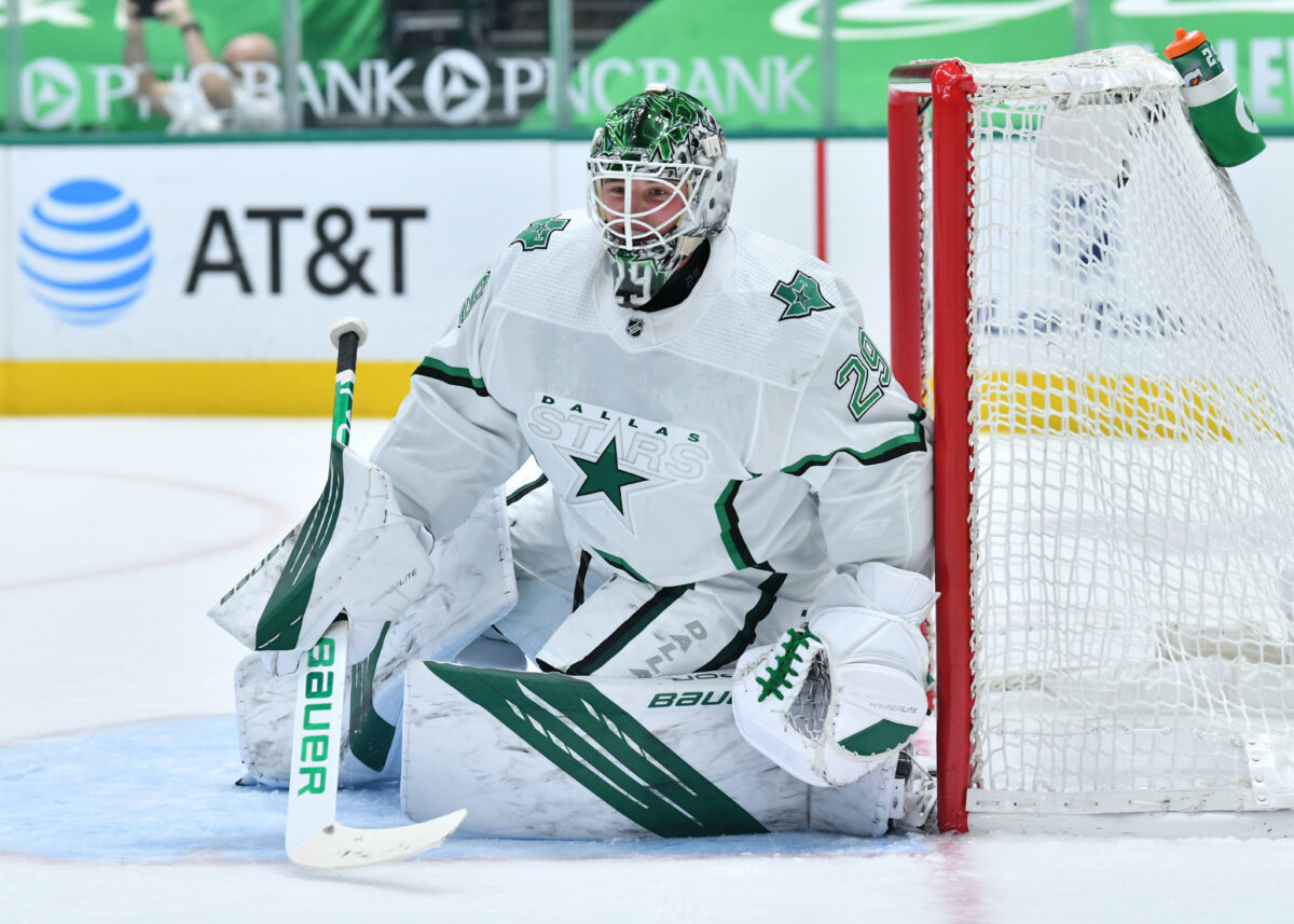 Jake Oettinger Dallas Stars