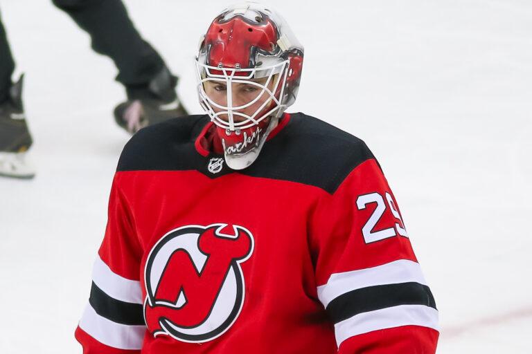 Mackenzie Blackwood New Jersey Devils