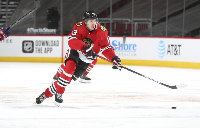 Mattias Janmark Chicago Blackhawks
