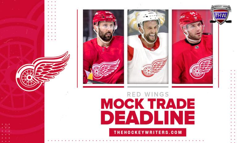 Detroit Red Wings Mock Trade Deadline Sam Gagner, Luke Glendening, and Bobby Ryan