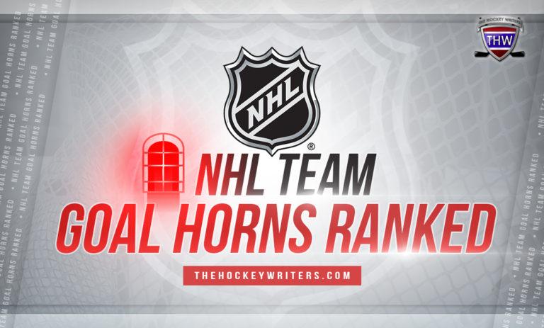 NHL Team Goal Horns Ranked