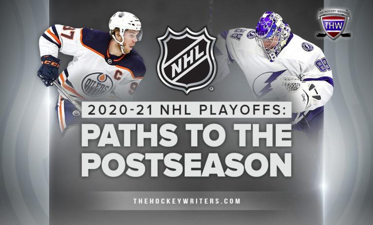 2020-21 NHL Playoffs: Paths to the Postseason Connor McDavid Andrei Vasilevskiy