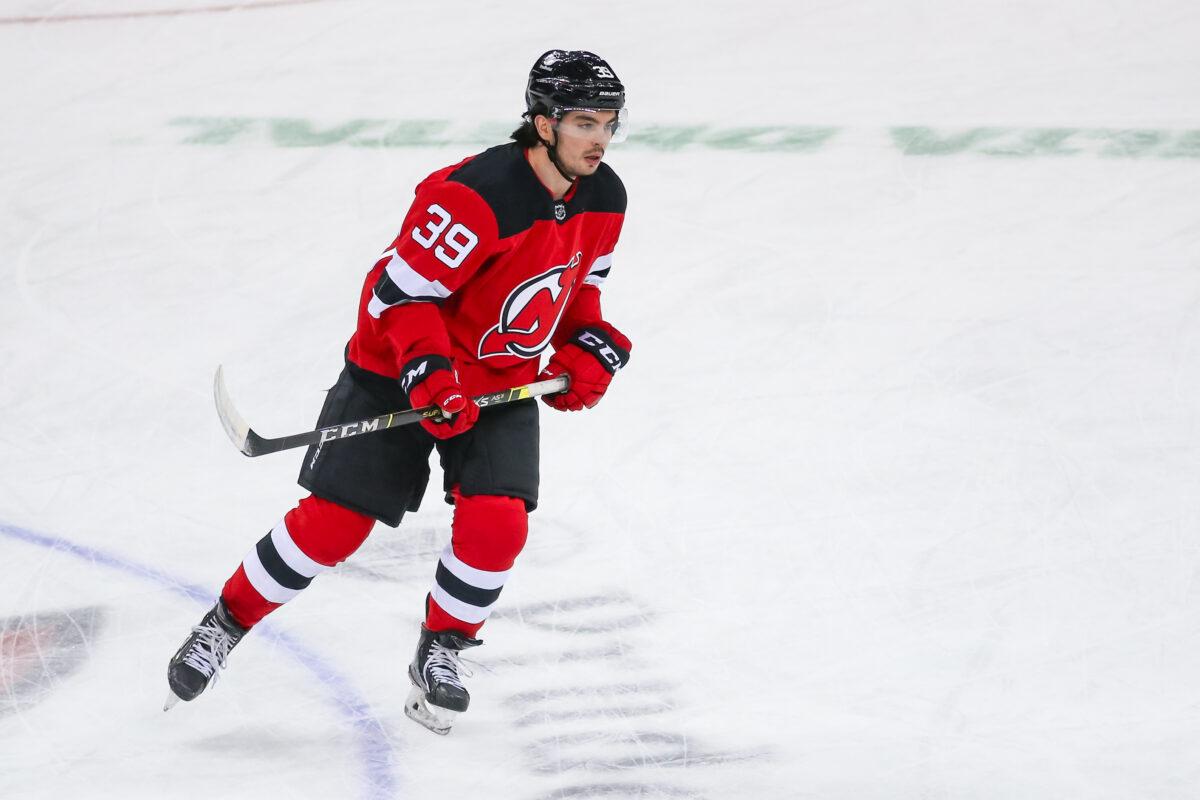 Nick Merkley New Jersey Devils