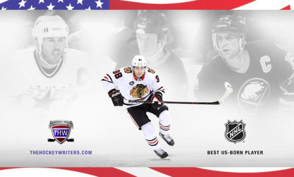 Best US-Born Player Mike Modano, Patrick Kane, Phil Housley Pat LaFontaine