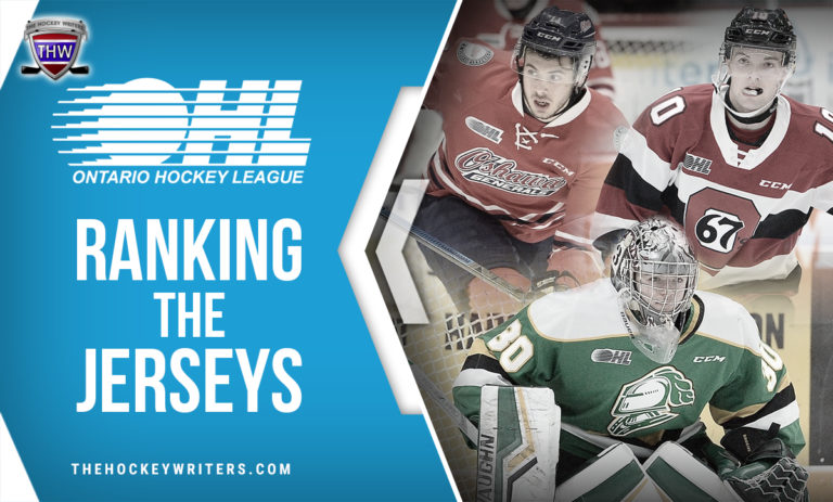 Ranking the OHL dark jerseys 67's, Generals, and Knight