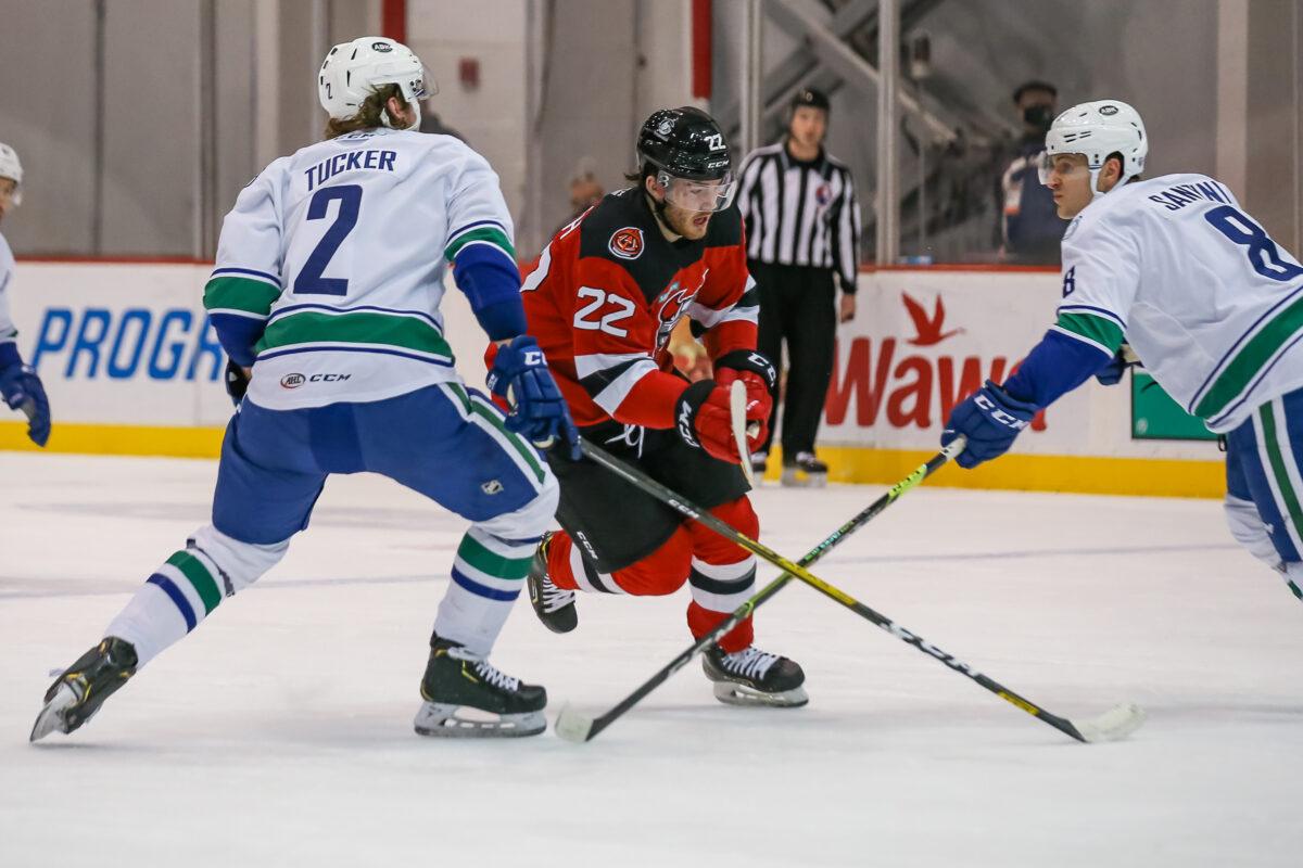 Reilly Walsh Binghamton Devils