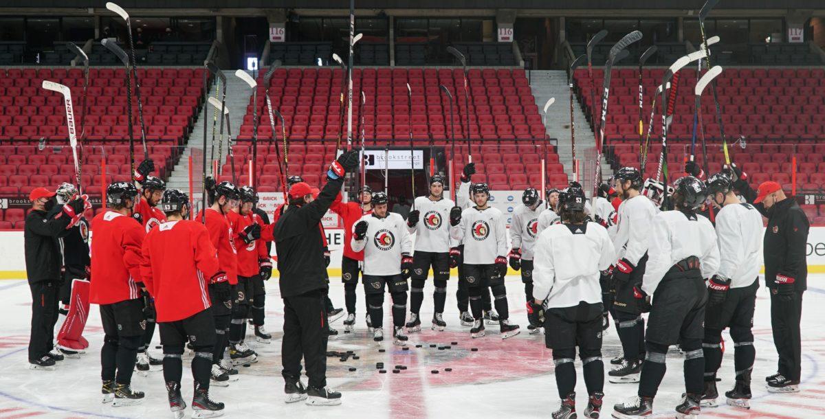 Ottawa Senators Salute Brian Fraser