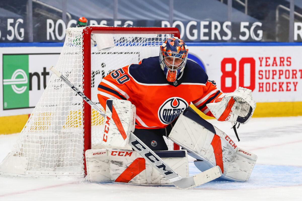 Stuart Skinner Edmonton Oilers