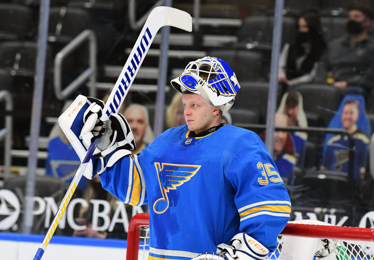 Ville Husso St. Louis Blues