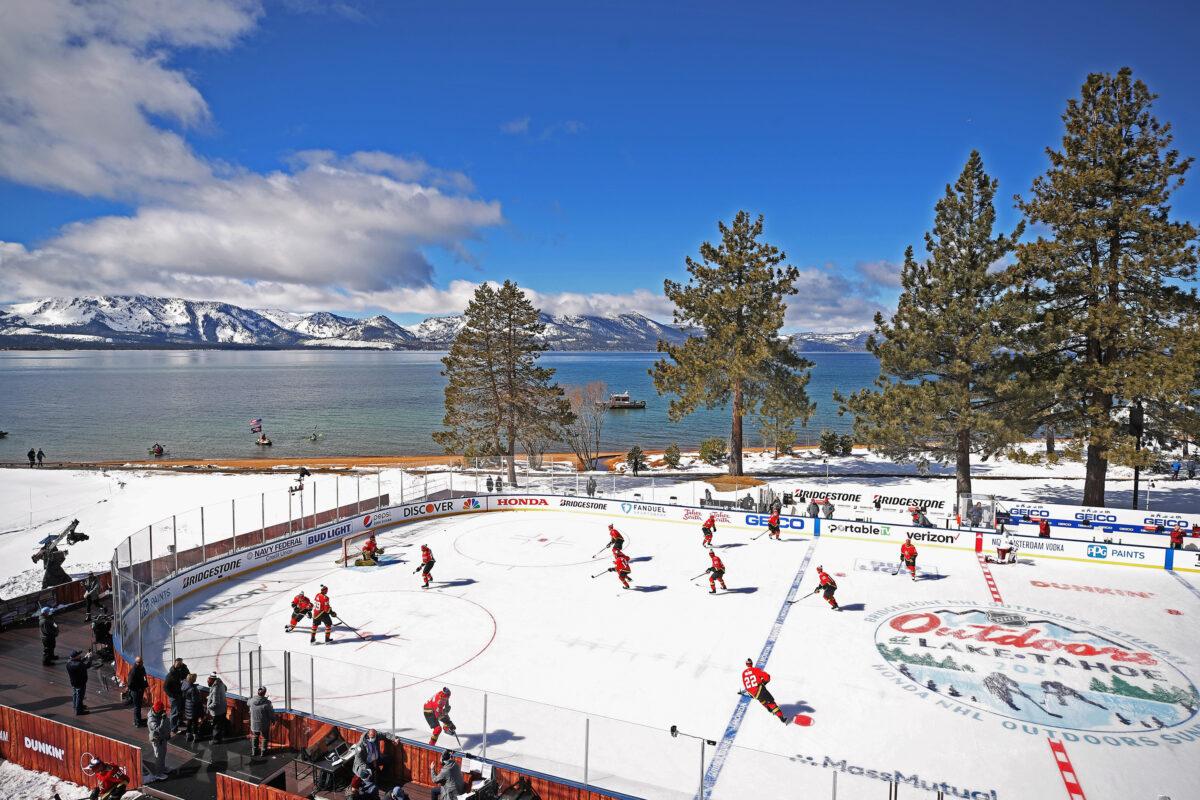 lake tahoe outdoor rink