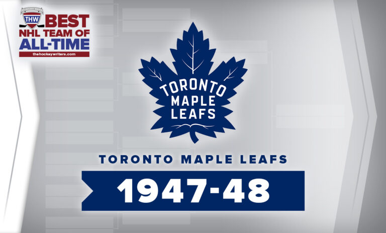 THW Best NHL Team of All-Time Toronto Maple Leafs 1947-48
