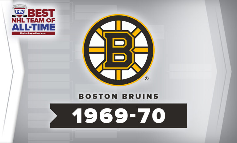 THW Best NHL Team of All-Time Boston Bruins 1969-70