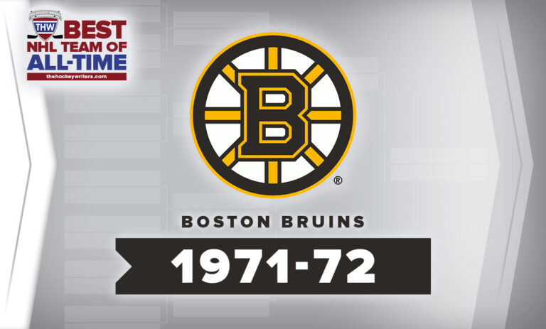 THW Best NHL Team of All-Time Boston Bruins 1971-72