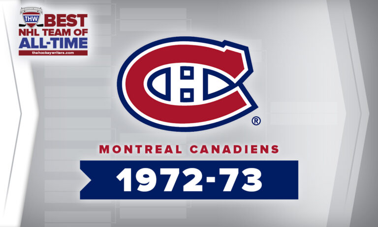THW Best NHL Team of All-Time Montreal Canadiens 1972-73