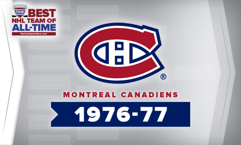 THW Best NHL Team of All-Time Montreal Canadiens 1976-77