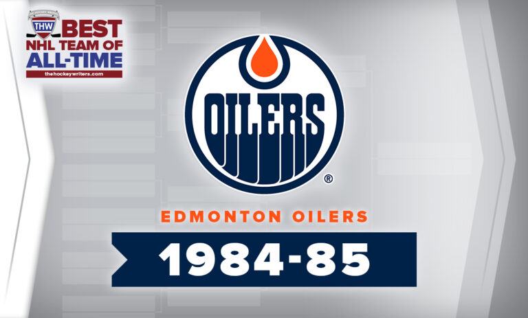 THW Best NHL Team of All-Time Edmonton Oilers 1984-85