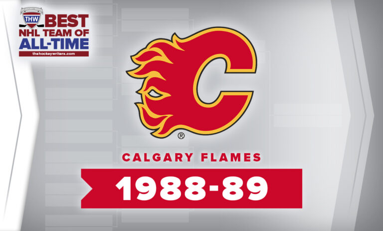 THW Best NHL Team of All-Time Calgary Flames 1988-89