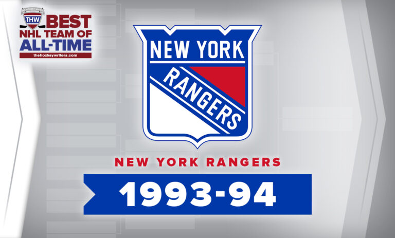 THW Best NHL Team of All-Time New York Rangers 1993-94