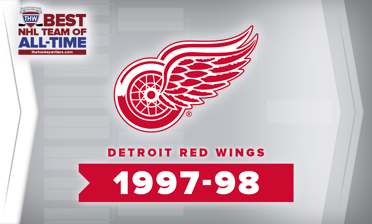 THW Best NHL Team of All-Time Detroit Red Wings 1997-98