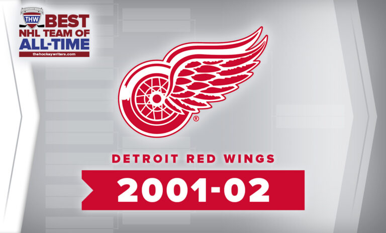 THW Best NHL Team of All-Time Detroit Red Wings 2001-02
