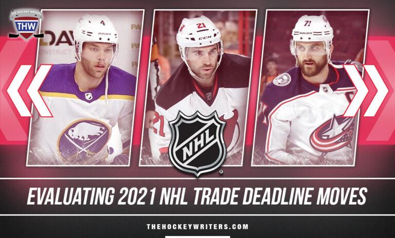 Grading 2021 NHL Trade Deadline Moves Taylor Hall, Kyle Palmieri & Nick Foligno