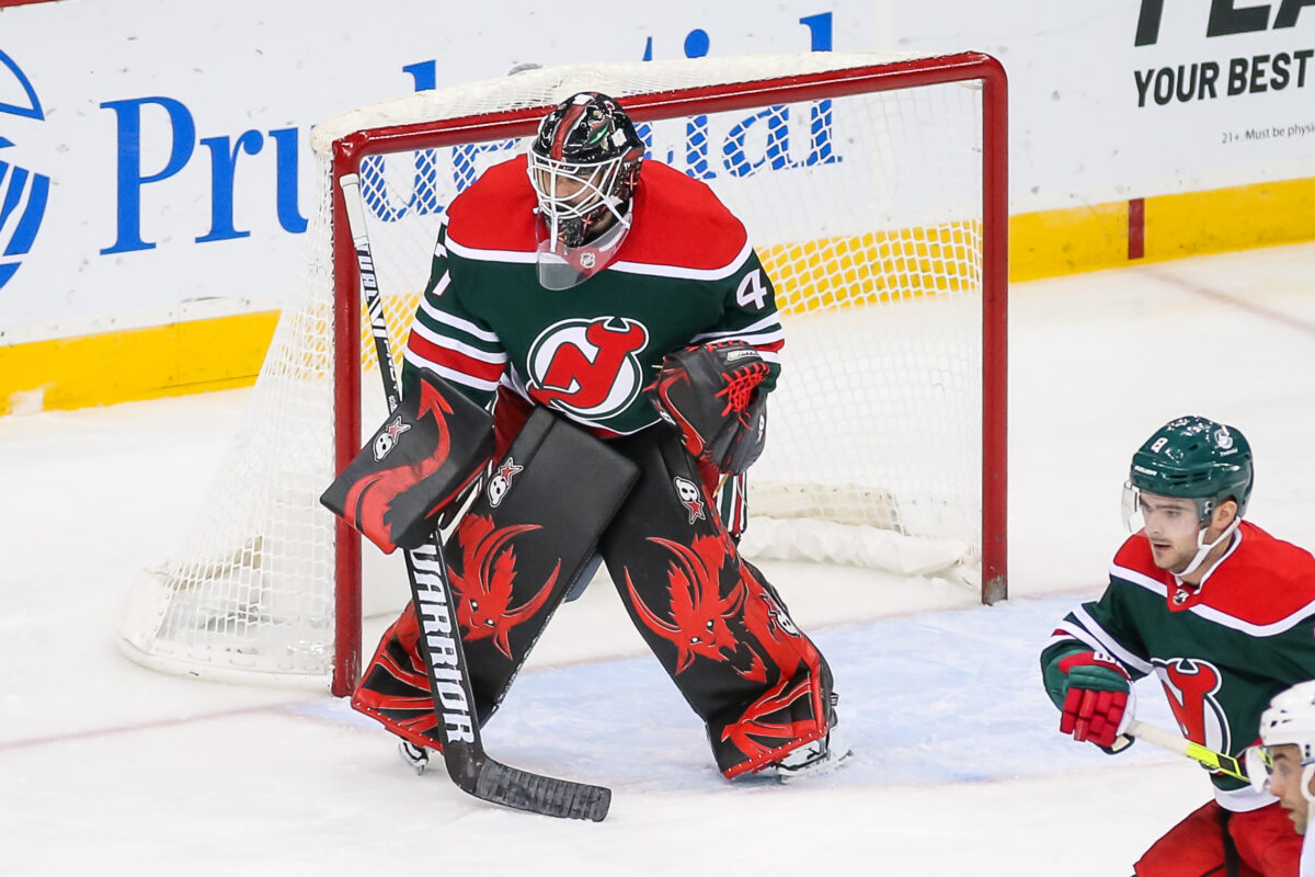 Aaron Dell New Jersey Devils