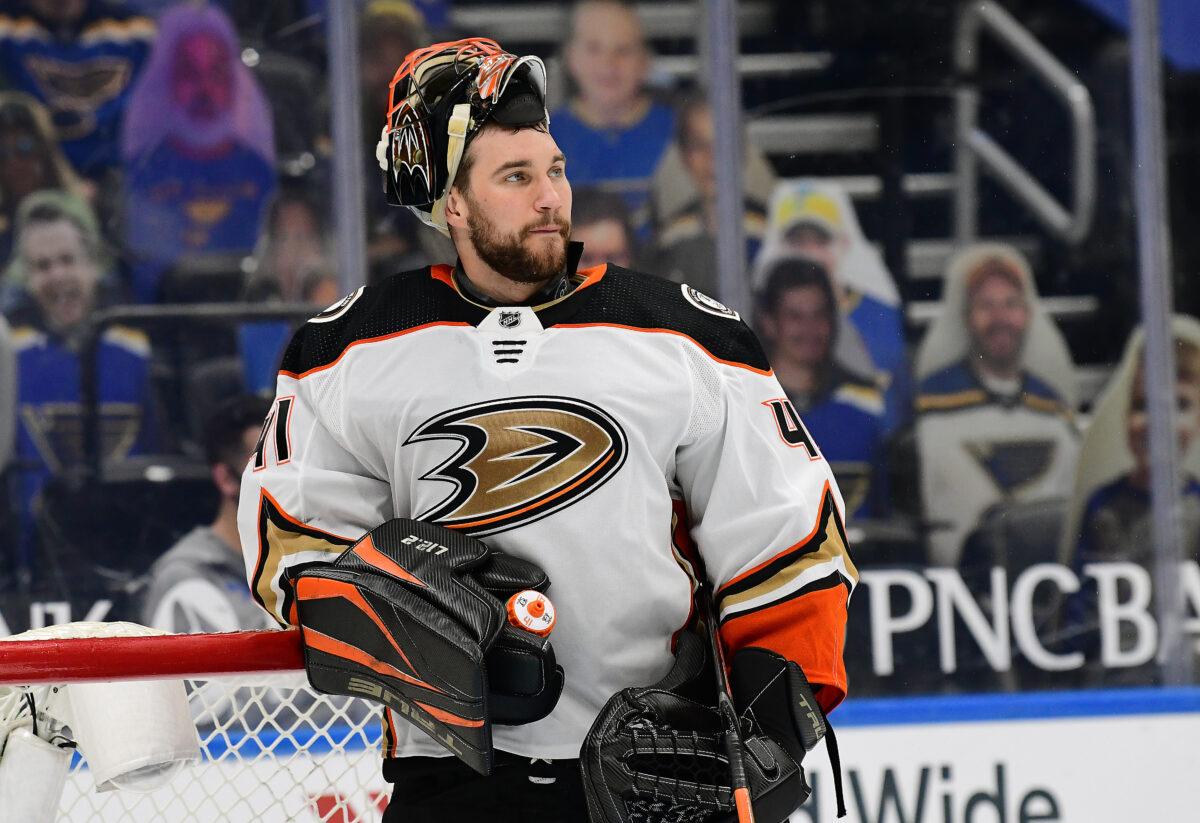 Anthony Stolarz Anaheim Ducks