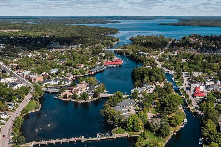 Bobcaygeon aerial