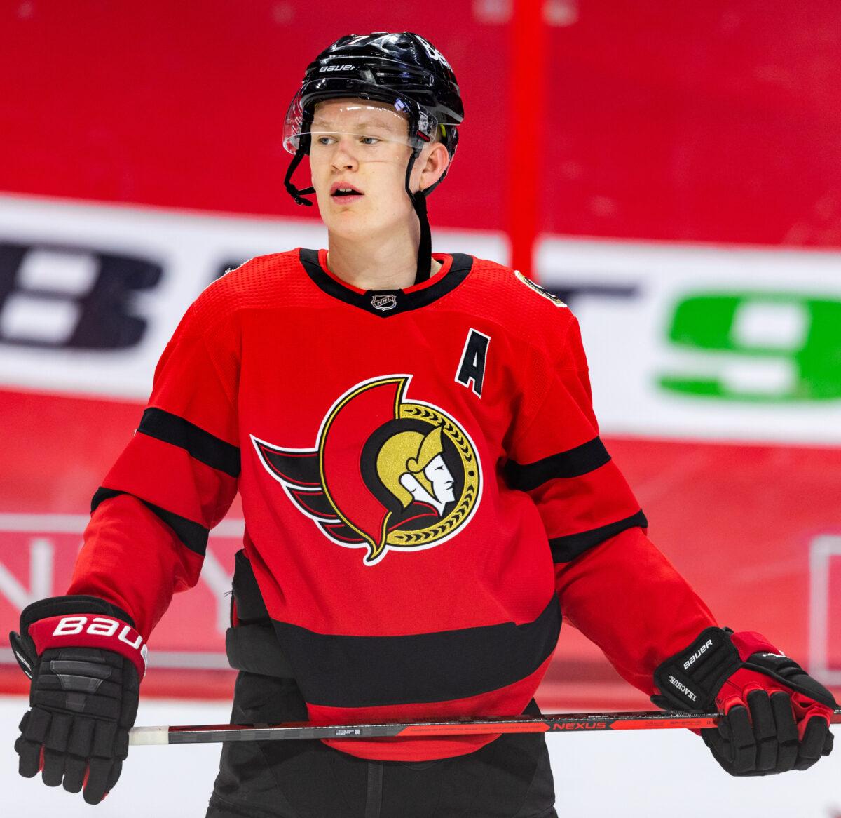 Brady Tkachuk Ottawa Senators
