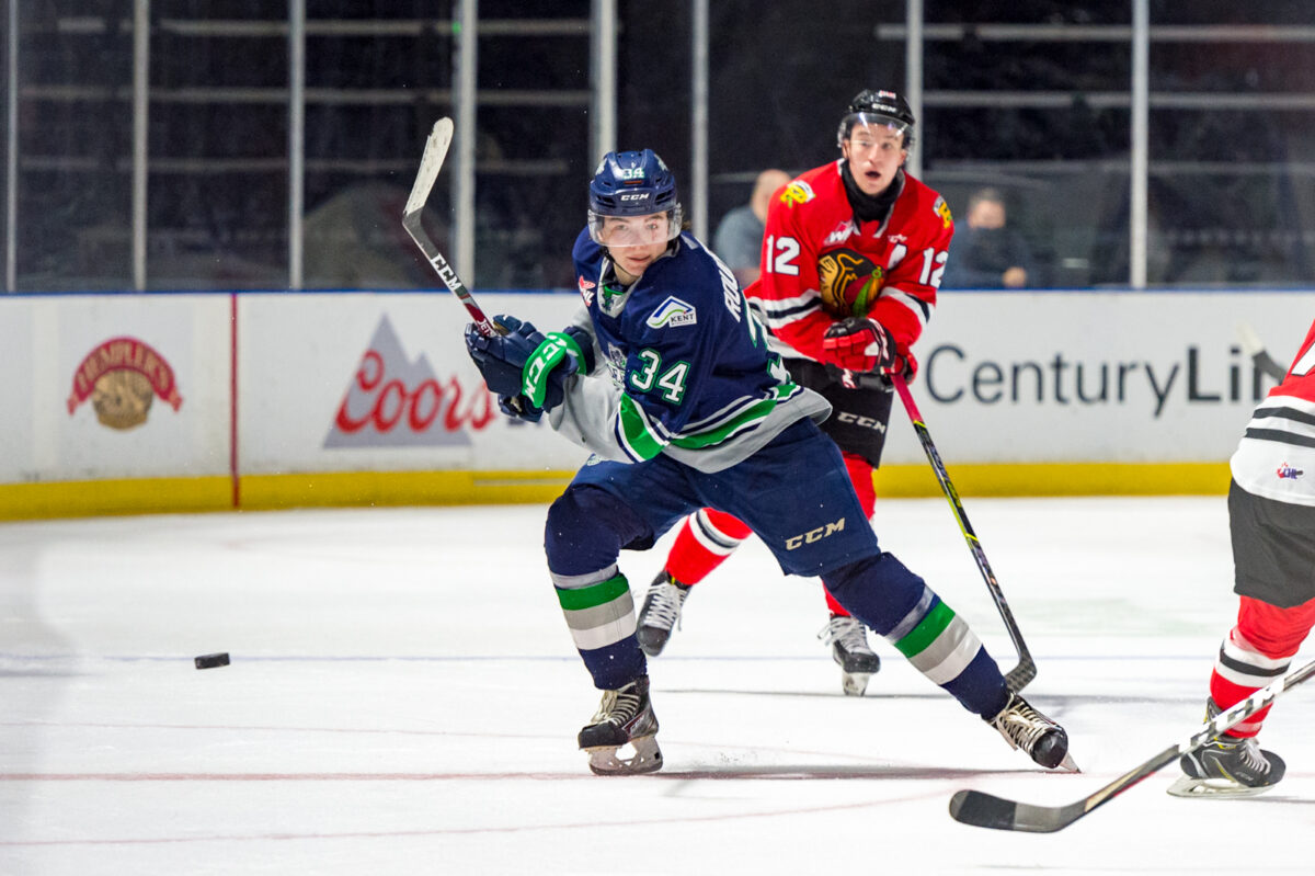 Connor Roulette, Seattle Thunderbirds-Stars Show Patience & Commitment in 2021 NHL Draft