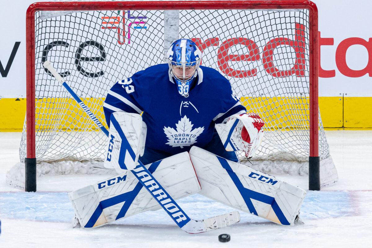 David Rittich Toronto Maple Leafs