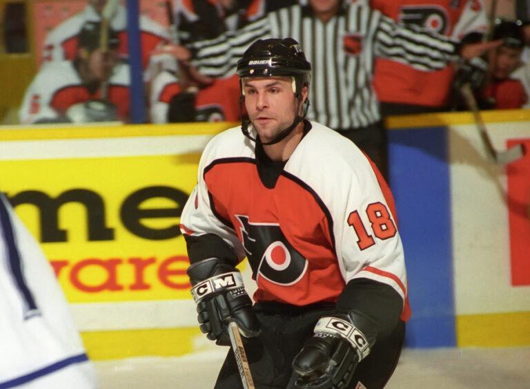 Daymond Langkow Philadelphia Flyers