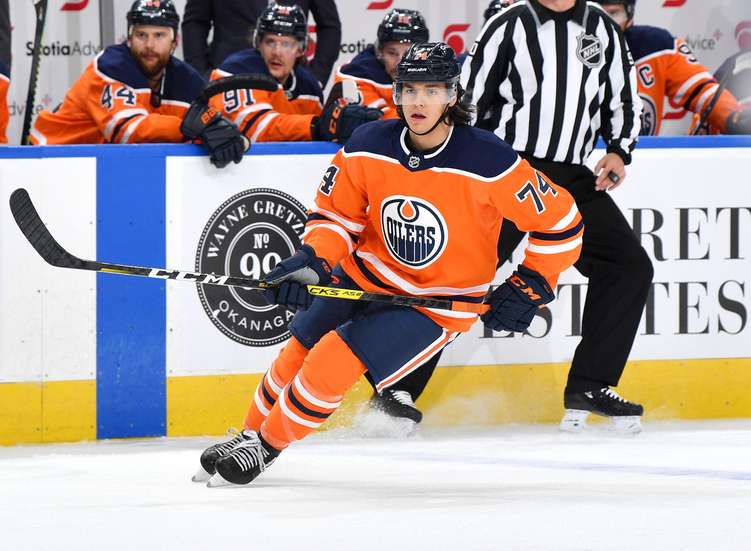 Ethan Bear Edmonton Oilers