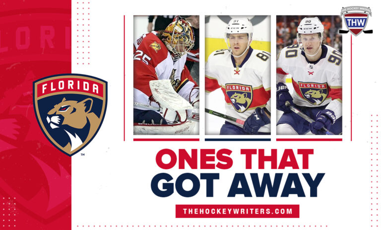 Ones That Got Away Florida Panthers Jonathan Marchessault, Jacob Markstrom, and Jared McCann