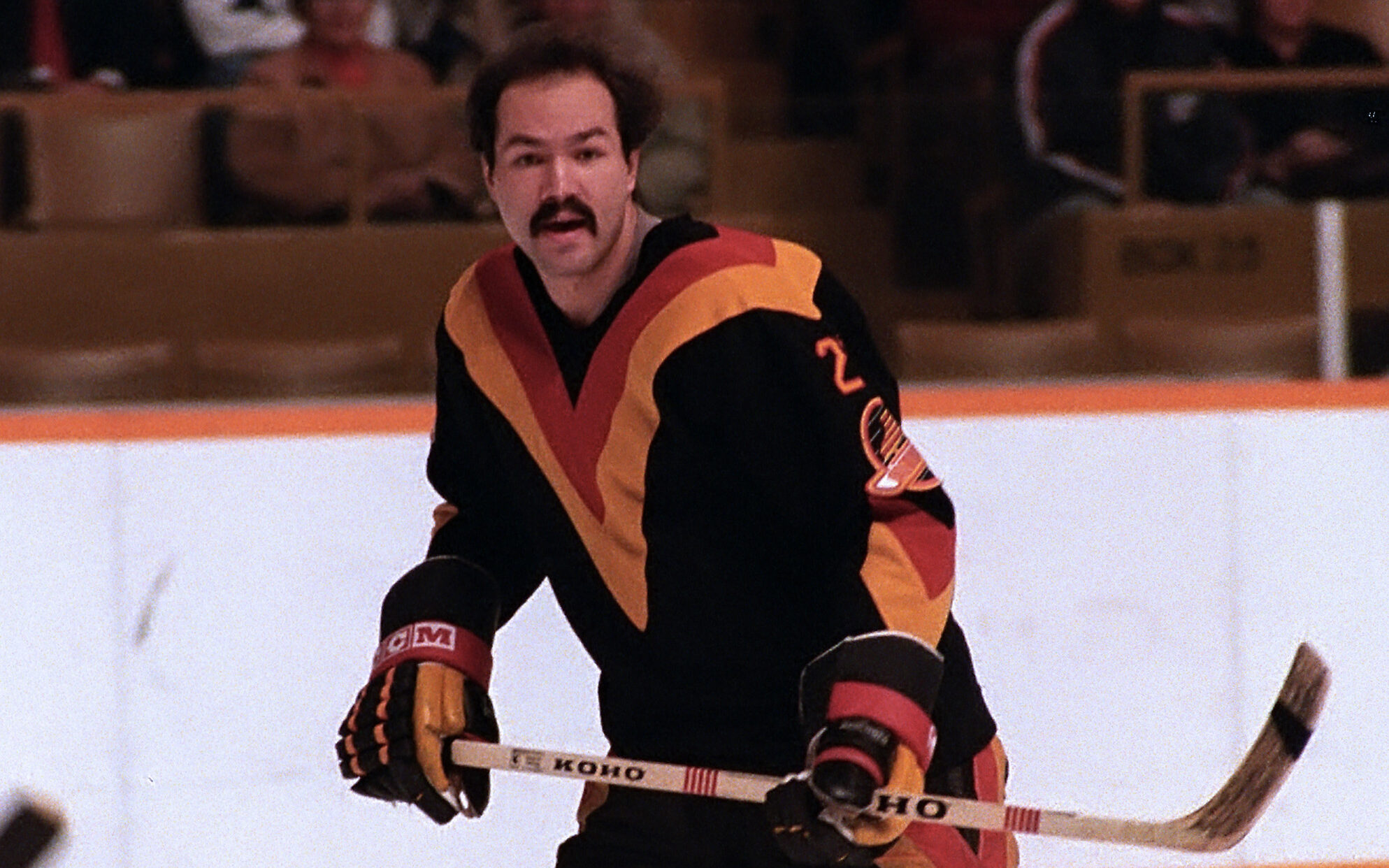 Harold Snepsts Vancouver Canucks