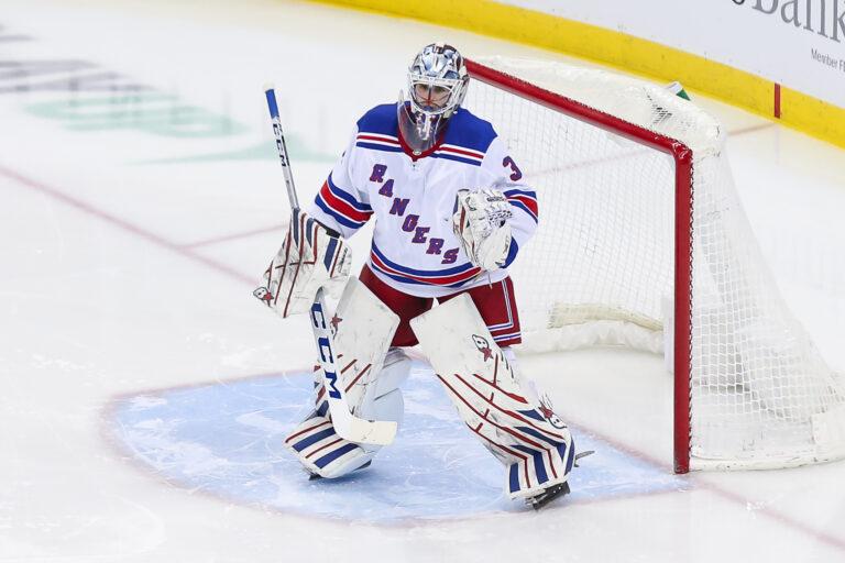 Igor Shesterkin New York Rangers