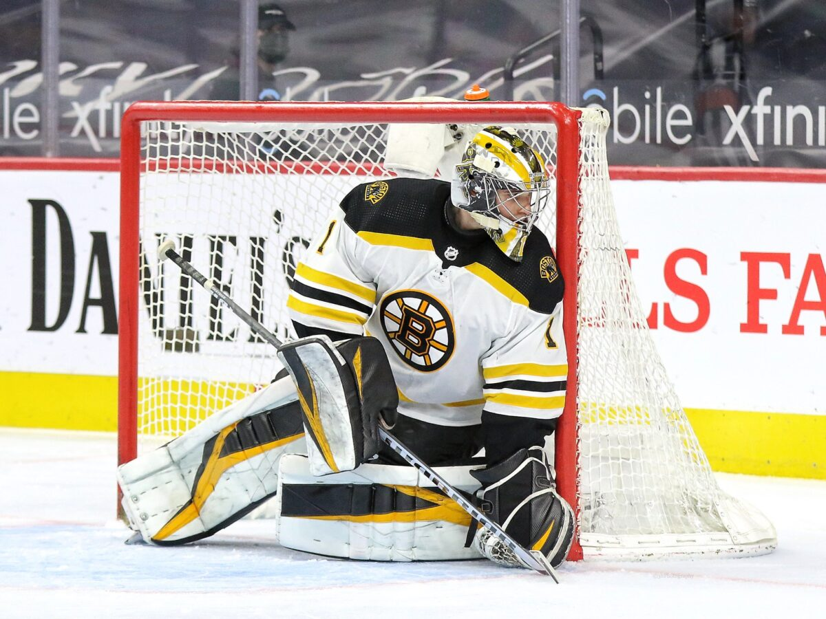 Jeremy Swayman Boston Bruins