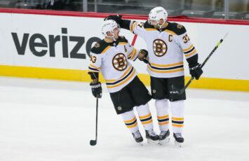 Brad Marchand Patrice Bergeron Boston Bruins