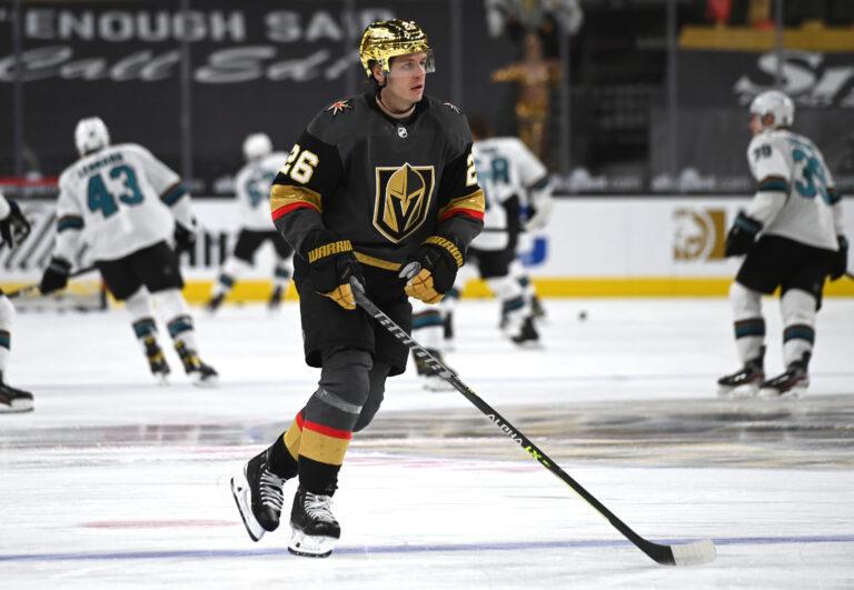 Mattias Janmark Vegas Golden Knights