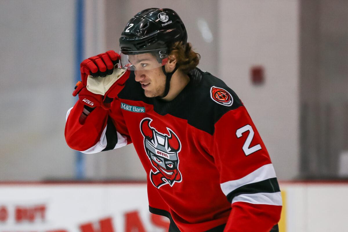 Michael Vukojevic Binghamton Devils